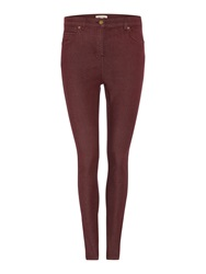 Barbour Badminton Cotton Stretch Trousers Red