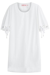 See By Chloe See By Chloe Cotton Dress With Rope Detail White