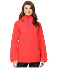 Burton Ak 2L Elevation Anorak Jacket Coral Women's Coat