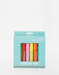 Paperchase Owl Scented Pens Multi