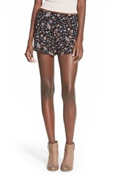 Junior Women's Billabong 'Wandering Sun' Floral Print Shorts