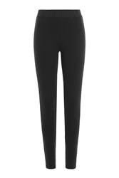 Juicy Couture Leggings With Zippers Black