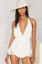 Deep Feelings Halter Romper