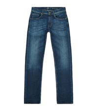 7 For All Mankind The Modern Straight Jeans Male Blue