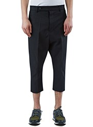Rick Owens Astaires Cropped Pants Black