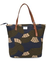 Sandqvist 'Andy' Shopper Tote Green