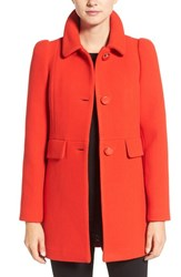 Kate Spade Women's New York Wool Blend A Line Coat