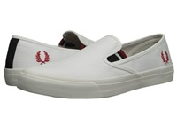 Fred Perry Turner Slip On Canvas White Men's Flat Shoes