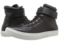 K Swiss High Court Black Off White Leather Men's Tennis Shoes