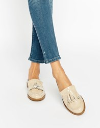 New Look Tassel Loafers Off White