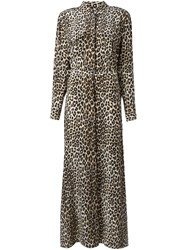 Equipment Leopard Print Maxi Dress Multicolour