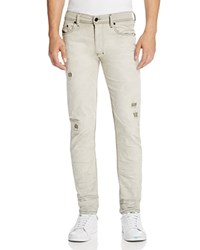 Diesel Thavar Destroyed Slim Fit Jeans In Denim