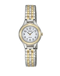 Seiko Ladies Two Tone Functional Solar Watch