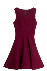 Azzedine Alaia Cutout Dress Pink