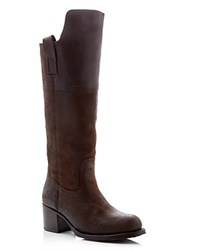 Frye Autumn Shield Tall Boots Compare At 428 Dark Brown