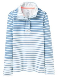 Joules Cowdray Stripe Sweatshirt Saltwash