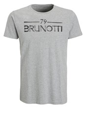Brunotti Ardanti Print Tshirt Light Grey Melee