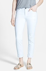 Women's Kut From The Kloth 'Catherine'distressed Boyfriend Jeans White