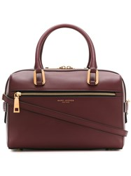 Marc Jacobs 'West End' Bauletto Tote Pink And Purple