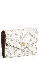 Michael Michael Kors Coin Pouch Vanilla Luggage