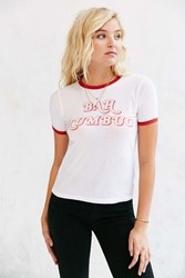 Truly Madly Deeply Bah Humbug Tee White