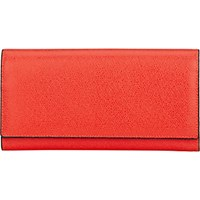 Valextra Women's Large Wallet With Card Case Red