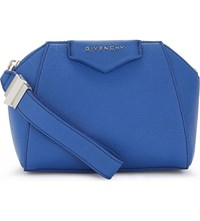 Givenchy Antigon Leather Cosmetic Case Indigo Blue
