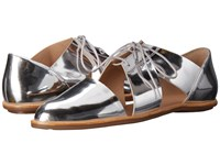 Loeffler Randall Willa Silver Mirror Leather