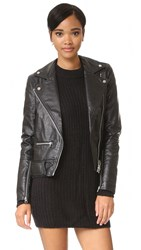 Cheap Monday Punch Biker Jacket Black