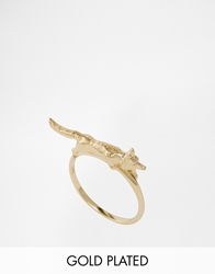 Bill Skinner Fox Ring Gold