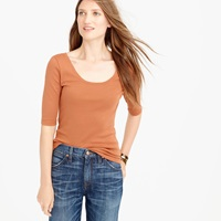 J.Crew Perfect Fit Boatneck Tee