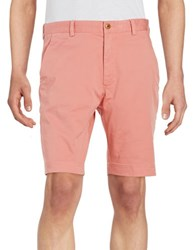 Brooks Brothers Cotton Stretch Shorts Pink
