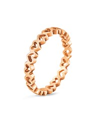 Folli Follie Love And Fortune Ring Rose Gold