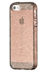 Speck 'Candyshell' Iphone 5 5S And Se Case Black Onyx Gold Glitter