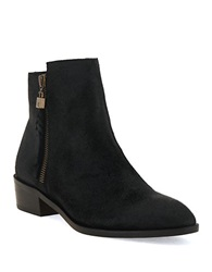 Elliott Lucca Rosaria Leather Ankle Boots Black