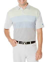 Callaway Performance Pixel Printed Polo Grey