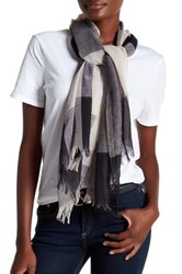 14Th And Union Colorblock Scarf Black
