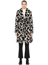 Sportmax Belted Mohair And Wool Coat