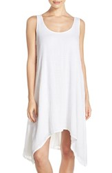 Women's Hard Tail Scoop Neck Cotton Dress