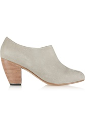 Dieppa Restrepo Lady Leather Ankle Boots Gray