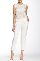 Endless Rose Amoret Pearl Pant White