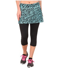 Skirt Sports Lotta Breeze Capri Skirt Safari Print Women's Skort Animal Print