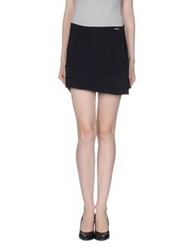 G.Sel Mini Skirts Black