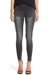 Joan Smalls For True Religion Brand Jeans 'Runway' Moto Leggings Ghost