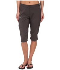 Jack Wolfskin Passion Trail 3 4 Pants Dark Steel Women's Casual Pants Brown