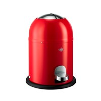 Wesco Single Master Bathroom Bin Red