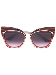 Dita Eyewear 'Stormy' Sunglasses Red