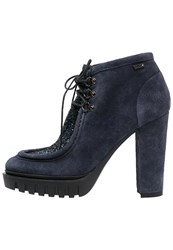Liu Jo Jeans High Heeled Ankle Boots Dress Blue
