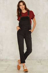 Courtshop Joey Carbon Faded Overall Black