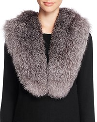 Surell Fox Fur Stole Scarf 100 Bloomingdale's Exclusive Blue Frost